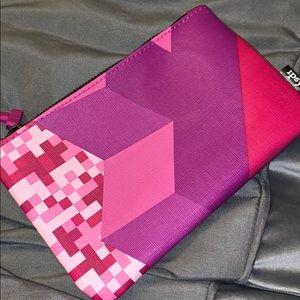 🆕 Ipsy TETRIS empty zippered cosmetic bag